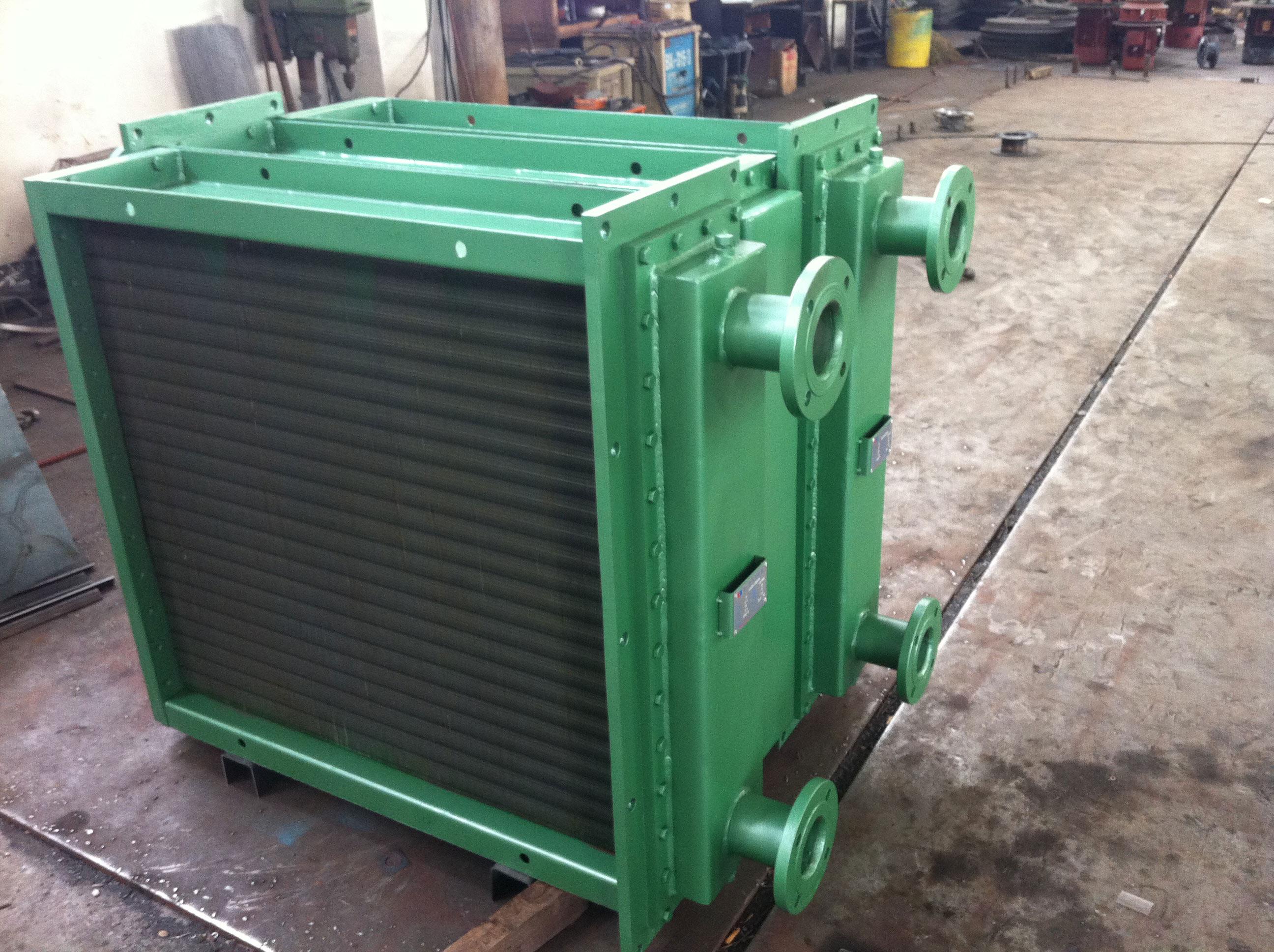 空水冷卻器芯體